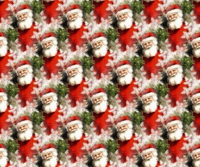 Click to get the codes for this image. Vintage Mini Santas Tiled Pattern, Holidays  Christmas Background, wallpaper or texture for Blogger, Wordpress, or any phone, desktop or blog.