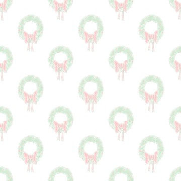 Click to get the codes for this image. Watercolor Christmas Wreaths Watermark, Holidays  Christmas Background, wallpaper or texture for Blogger, Wordpress, or any phone, desktop or blog.