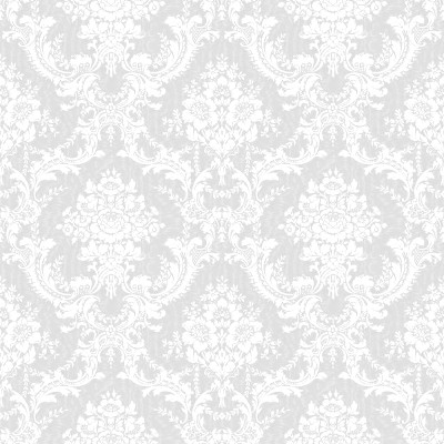 Click To Get The Codes For This Image White Ornate Floral Wallpaper Tileable Background