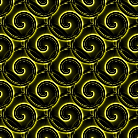Click to get the codes for this image. Yellow And Black Spirals, Patterns  Spirals and Swirls, Colors  Yellow and Gold Background, wallpaper or texture for Blogger, Wordpress, or any phone, desktop or blog.