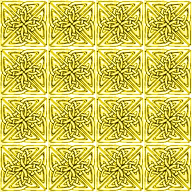 Click to get the codes for this image. Yellow Celtic Squares Seamless Background Pattern, Patterns  Celtic, Colors  Yellow and Gold, Ornate Background, wallpaper or texture for, Blogger, Wordpress, or any web page, blog, desktop or phone.
