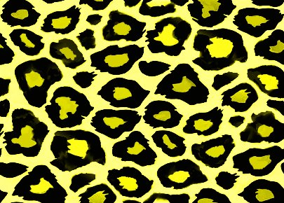 Click to get the codes for this image. Yellow Leopard Print, Animal Print, Colors  Yellow and Gold Background, wallpaper or texture for, Blogger, Wordpress, or any web page, blog, desktop or phone.