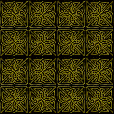 Click to get the codes for this image. Yellow On Black Celtic Squares Seamless Background Pattern, Patterns  Celtic, Colors  Yellow and Gold, Ornate Background, wallpaper or texture for, Blogger, Wordpress, or any web page, blog, desktop or phone.