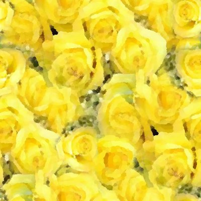Click to get the codes for this image. Yellow Roses Background Painting Seamless, Flowers  Floral Designs, Colors  Yellow and Gold, Seasons  Summer Background, wallpaper or texture for Blogger, Wordpress, or any phone, desktop or blog.