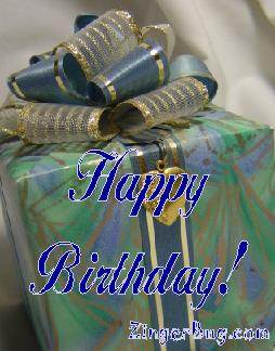 Click to get the codes for this image. Happy Birthday Pretty Present, Birthday Presents, Happy Birthday Free Image, Glitter Graphic, Greeting or Meme for Facebook, Twitter or any forum or blog.