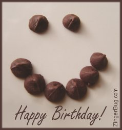 Click to browse our collection of happy birthday glitter graphics, Greetings, comments and GIFs featuring food, candy and chocolate.