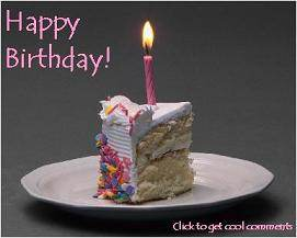 Click to get the codes for this image. Happy Birthday Cake Photo, Birthday Cakes, Happy Birthday Free Image, Glitter Graphic, Greeting or Meme for Facebook, Twitter or any forum or blog.