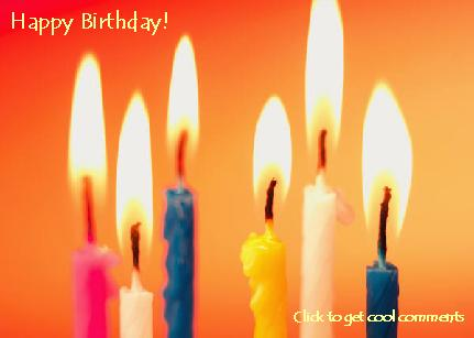 Click to get the codes for this image. Birthda Candles Photo (Large), Birthday Candles, Happy Birthday Free Image, Glitter Graphic, Greeting or Meme for Facebook, Twitter or any forum or blog.