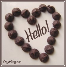 Click to get the codes for this image. Chocolate Heart Hello, Hi Hello Aloha Wassup etc, Hearts Free Image, Glitter Graphic, Greeting or Meme for any Facebook, Twitter or any blog.