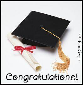 Click to get the codes for this image. Graduation Hat Contrats Graphic, Graduation, Congratulations Free Image, Glitter Graphic, Greeting or Meme for any Facebook, Twitter or any blog.
