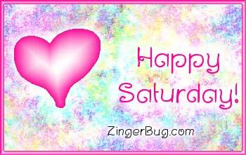 Click to get the codes for this image. Happy Saturday Pink Plaque, Happy Saturday, Hearts Free Image, Glitter Graphic, Greeting or Meme for Facebook, Twitter or any forum or blog.