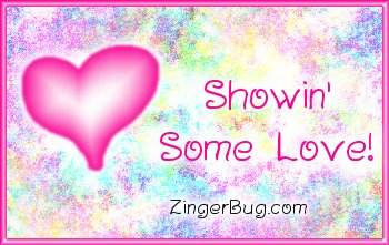 Click to get the codes for this image. Showin Some Love Pink Plaque, Hearts, Showin Some Love Free Image, Glitter Graphic, Greeting or Meme for any Facebook, Twitter or any blog.