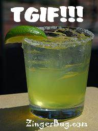 Click to get the codes for this image. Tgif Margarita, Happy Friday, TGIF Free Image, Glitter Graphic, Greeting or Meme for Facebook, Twitter or any forum or blog.