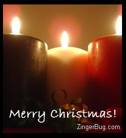 Click to get the codes for this image. Christmas Candles, Christmas Free Image, Glitter Graphic, Greeting or Meme for Facebook, Twitter or any forum or blog.