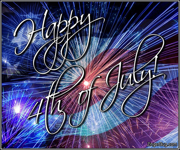 Click to get the codes for this image. Happy 4th Of July Fireworks Flag Collage, 4th of July Glitter Graphic, Comment, Meme, GIF or Greeting