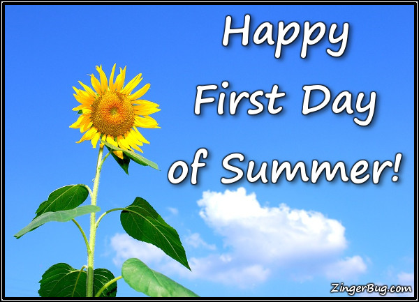 Click to get the codes for this image. Happy First Day Of Sunday Sunflower, Summer Glitter Graphic, Comment, Meme, GIF or Greeting