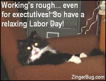 Labor Day Comments and Glitter Graphics