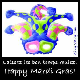 Click to get the codes for this image. Mardi Gras Jester Hat, Mardi Gras Free Image, Glitter Graphic, Greeting or Meme for Facebook, Twitter or any forum or blog.