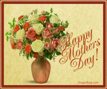 Click to get the codes for this image. Mothers Day Bouquet On Parchment, Mothers Day Free Image, Glitter Graphic, Greeting or Meme for Facebook, Twitter or any forum or blog.