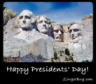 Click to get Presidents Day comments, GIFs, greetings and glitter graphics.