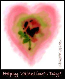 Click to get the codes for this image. Valentine Water Color Heart, Valentines Day Free Image, Glitter Graphic, Greeting or Meme for Facebook, Twitter or any forum or blog.