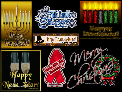 Comments, Greetings and Glitter Graphics for every holiday and season of the year