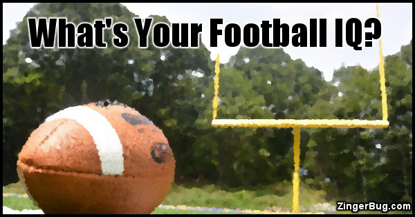 Click to take this quiz. Football is one of America's most popular sports, but how much do you really know about it? Test your knowledge with this fun quiz!